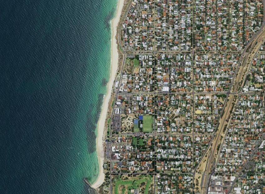 Aerial image of Cottesloe