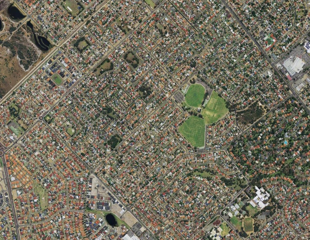 Aerial image of Thornlie
