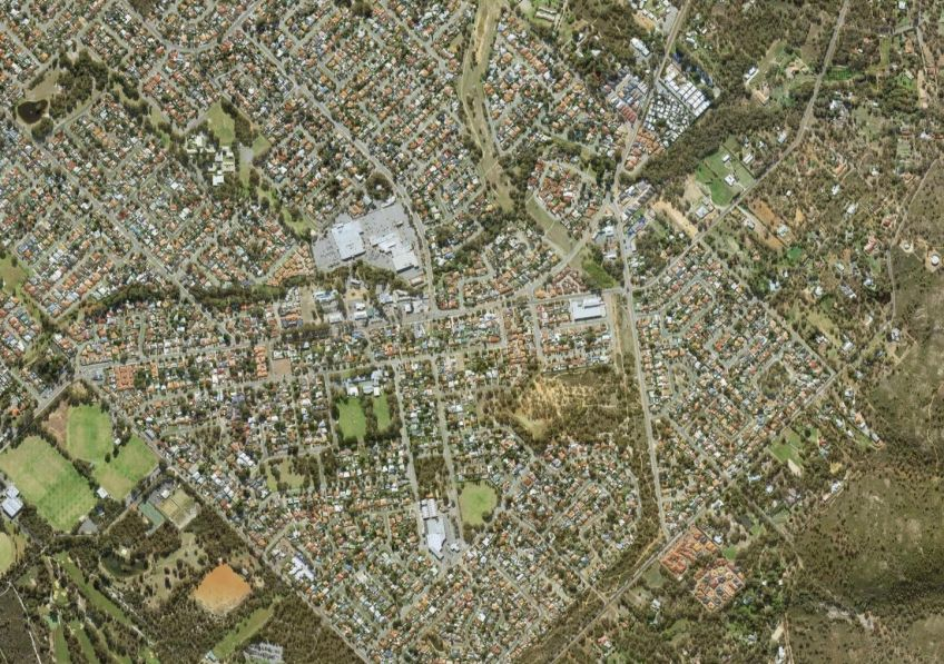 Aerial image of Forrestfield