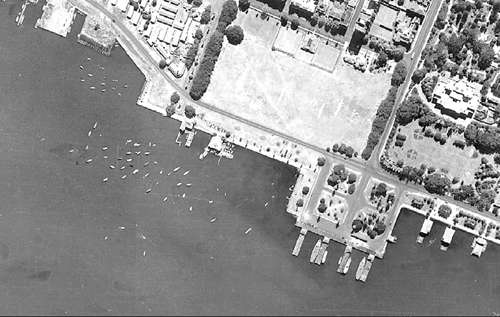 Airport aerial photo taken 1948