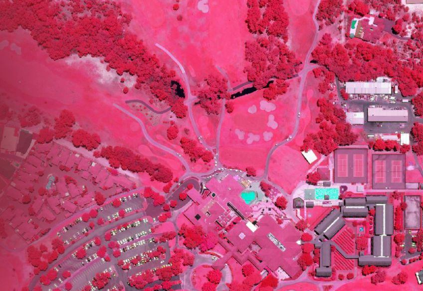 Near-Infrared aerial imagery